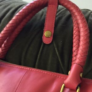 Elliott Lucca Bags - Nearly new red leather bag, large